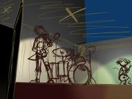 3d blender concert digital digital_sketch drums GIMP guitar Koli long_ear male open_mouth sketch stage Unnamed_character Yoshi_Lelio // 800x600 // 88.6KB