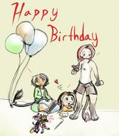 3 androgynous balloons birthday bulge chibi chibishanian Chuian colour digital digital_sketch drunk female float giftart happy happy_birthday hekshanian helium Inhuman Kilo male Miadren mypaint open_mouth panting shorts sketch tooth undies unidentified_character Unnamed_character Webcomic Yoshi_Lelio // 1005x1158 // 158.1KB