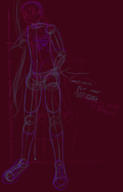 design digital digital_sketch doodle female Friendship_is_Magic hair human logo MLPFiM My_Little_Pony Photoshop rough shirt shoes sketch unidentified_character vest // 1452x2274 // 135.0KB