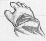 hand pencil pencil_sketch shirt sketch what // 438x390 // 36.4KB