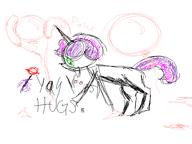 balloons balloon_popping bits CMC colour Cutie_Mark_Crusaders digital doodle Friendship_is_Magic horn lollipop My_Little_Pony open_mouth poke pony silly sucker Sweetie_Belle unicorn what // 640x480 // 23.5KB
