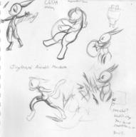 action author_indifferent balloons balloon_popping bits bodysuit bubble butt cat draconic dragon feline felyne female High_Pressure High_Volume horns ink ink_sketch long_ears Metal_Bubble_Dragon motion pencil pencil_sketch pony robot rump shorts sketch tail text toy vacuum_tube // 2262x2273 // 967.1KB