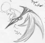 action author_indifferent doodle open_mouth Pegasus_Drive pencil pencil_sketch robot sketch toy wings // 638x607 // 283.6KB