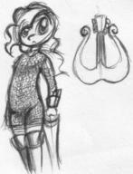 author_fancy author_like bard DND doodle Holly_SongSteel human ink ink_sketch lyre sketch // 546x713 // 82.8KB