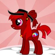 beachball bow cutie_mark Drawn_By_Others female filly fim Friendship_is_Magic mare MLP MLPFiM My_Little_Pony necklace pony ponygenerator ponymaker Rowdy_Ruby RP_Character water // 366x366 // 65.1KB