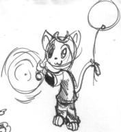 3 author_indifferent balloons doodle feline ink ink_sketch Kilo magic sketch // 644x698 // 69.7KB