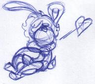 author_indifferent balloons bunny doodle female hug ink ink_sketch long_ears Luna sketch  // 520x462 // 54.1KB