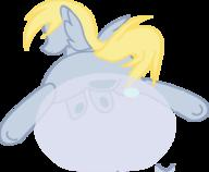 Derpy_Hooves GIMP Vector author_dislike blank_flank bubble colour digital flash incomplete inkscape pegasus plot transparent wigns // 510x420 // 51.5KB