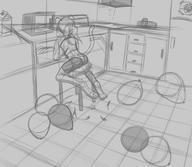 author_fancy author_like background balloons balloon_popping bits chair digital digital_sketch doodle feline female FireAlpaca interior kitchen popping rough scenery shorts sketch Sparky // 1600x1388 // 341.5KB