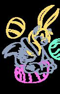 author_fancy author_like balloons balloon_sitting bunnyears Derpy_Hooves digital easter easter_eggs fanart fim inkscape long_ears MLP MLPFiM pegasus pony // 426x665 // 73.3KB
