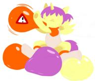 alicorn author_fancy author_like balloons balloon_inflation balloon_sitting bottomless clothes colour digital digital_sketch female mypaint pony Princess_Erroria shirt sketch socks // 1140x974 // 169.5KB