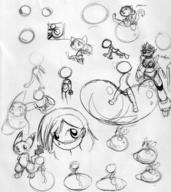 action_pose author_like balloons BALLTHINGY Blizzard_Wolfara bubble fail fanart felyne human ink_sketch Lea Nintendo Pikachu rule63 s2p silly sitting straddle ugly // 1232x1387 // 387.4KB