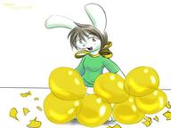 alternate_version author_fancy author_like balloons balloon_popping bits blush bottomless Bunni censored digital flirty long_ears open_mouth questionable Ribbons tease // 1024x768 // 392.3KB