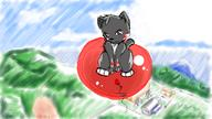 author_like background balloons cat digital_sketch fantasy flying game high Rowin // 800x450 // 463.9KB