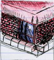 author_indifferent background blocks brick building cement doodle house ink_sketch notebook_paper object path roof street window // 396x440 // 120.8KB