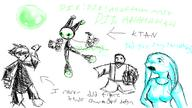 author_indifferent Bubbles Bubble_Menace digital_sketch draconic_breasts Dr_Dragevilon Dr_Metal KTAN long_ears Metal_Bubble_Dragon Metal_Fist open_mouth robot // 800x450 // 61.3KB