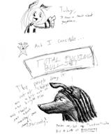 author_dislike Half HJHC ink_sketch questionable swearing // 593x716 // 73.2KB