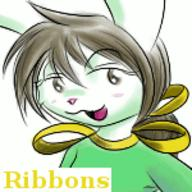 author_like blush Bunni colour icon like long_ears open_mouth Ribbons // 150x150 // 11.4KB