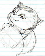 author_like felyne ink_sketch pencil_sketch unidentified_character // 223x278 // 56.8KB